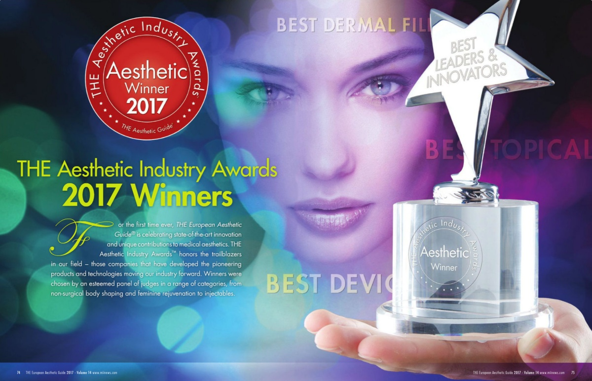 Starwalker Maqx Receives Aesthetic Industry Award Fotona